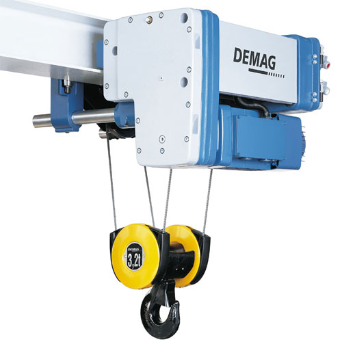 Electric wire rope hoist Demag