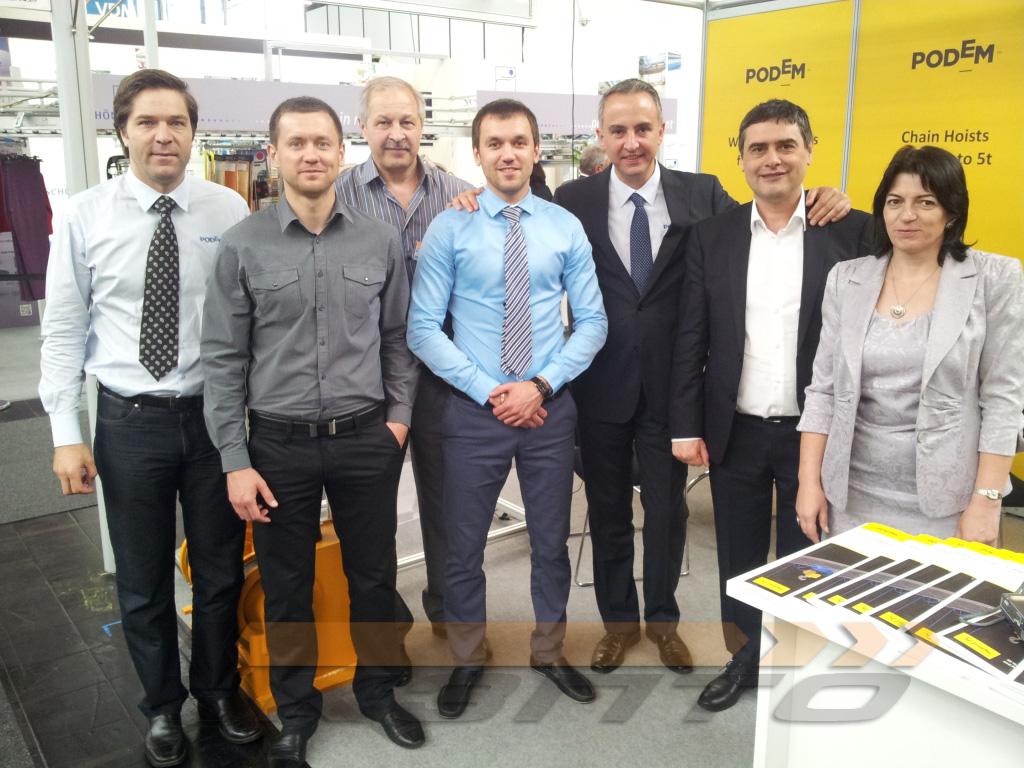1-Выставке CEMAT 2014 в Ганновере