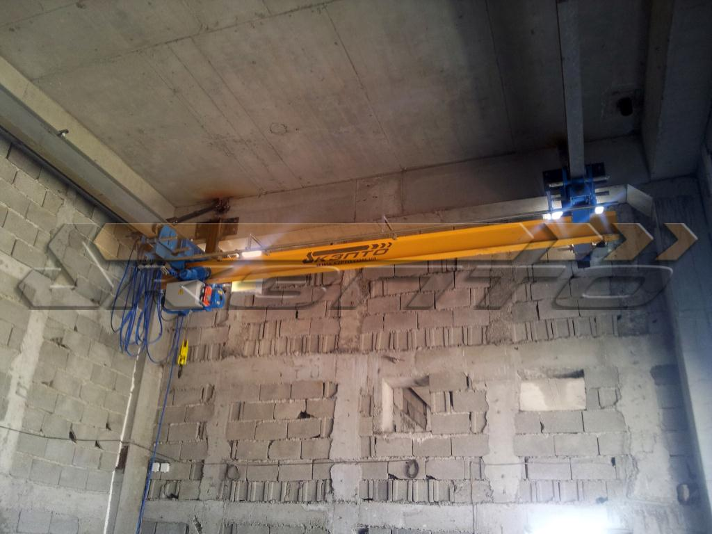 1-Изготовление и монтаж подкрановых путей и кранов