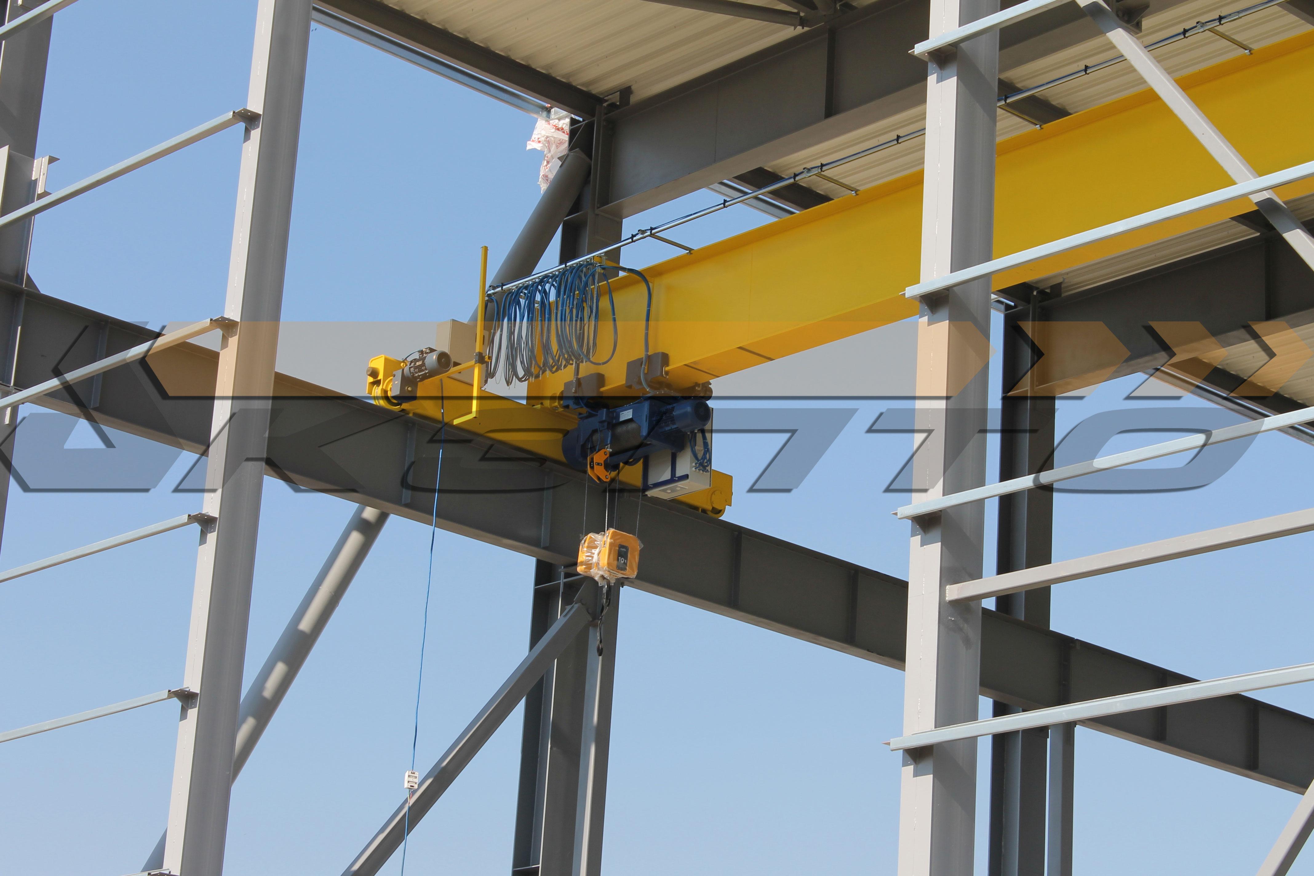 1-Кран мостовой однобалочный опорный гп 10т пролетом 23,0м