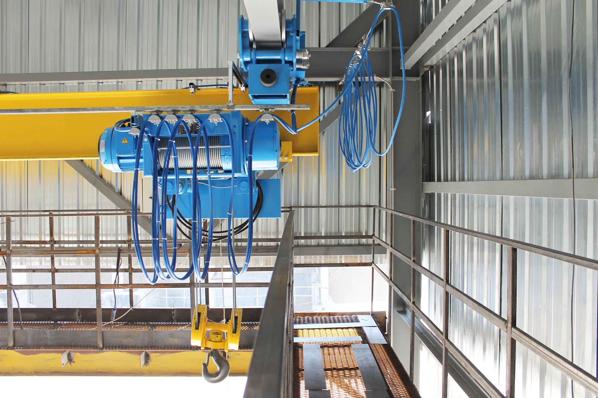 2-Кран подвесной однобалочный г-п 5,0 уменьшенной строительной высоты