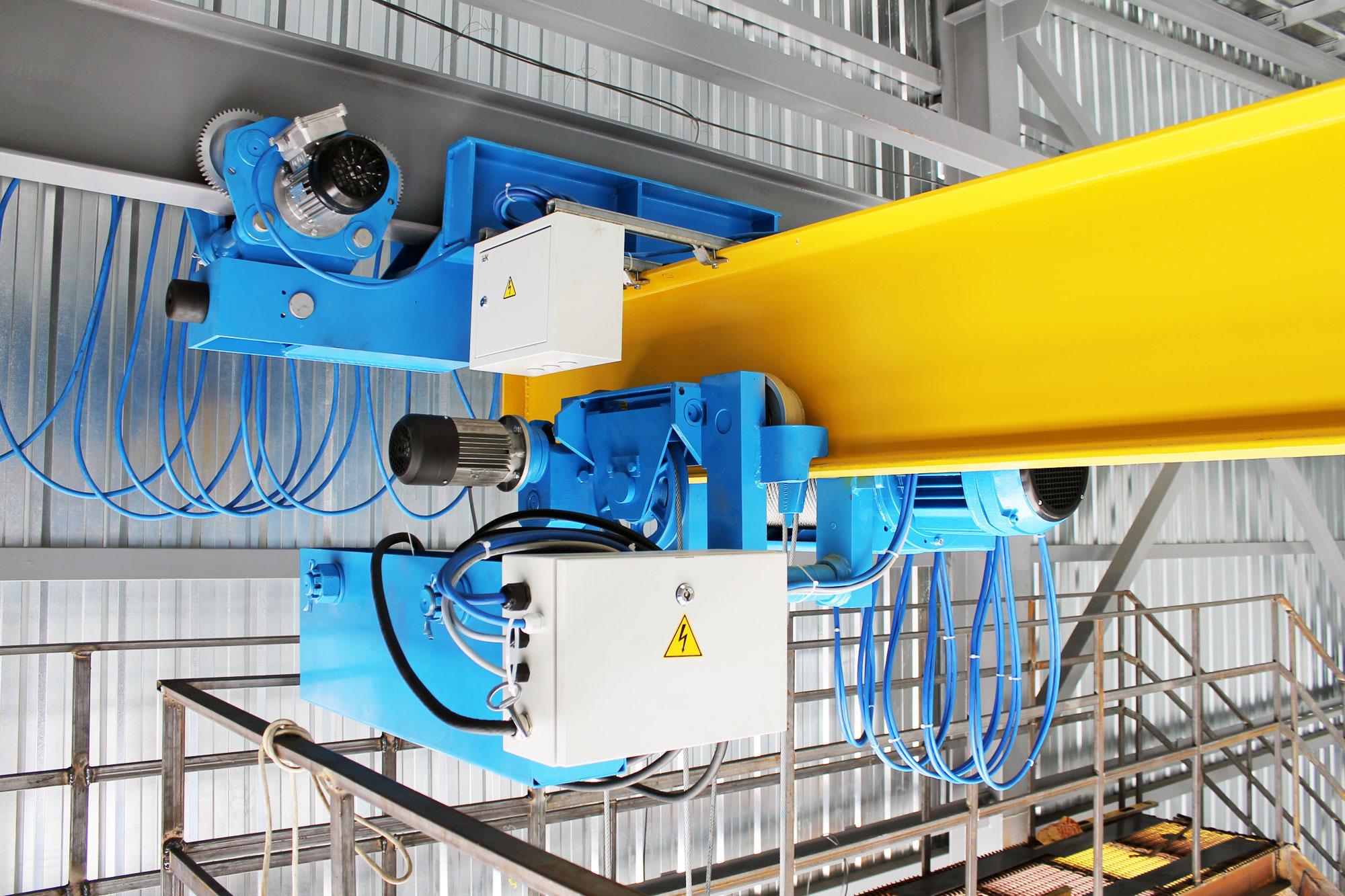 1-Кран подвесной однобалочный г-п 5,0 уменьшенной строительной высоты