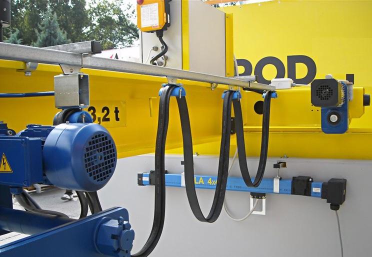 1-Токоподвод кабельный типа Festoon