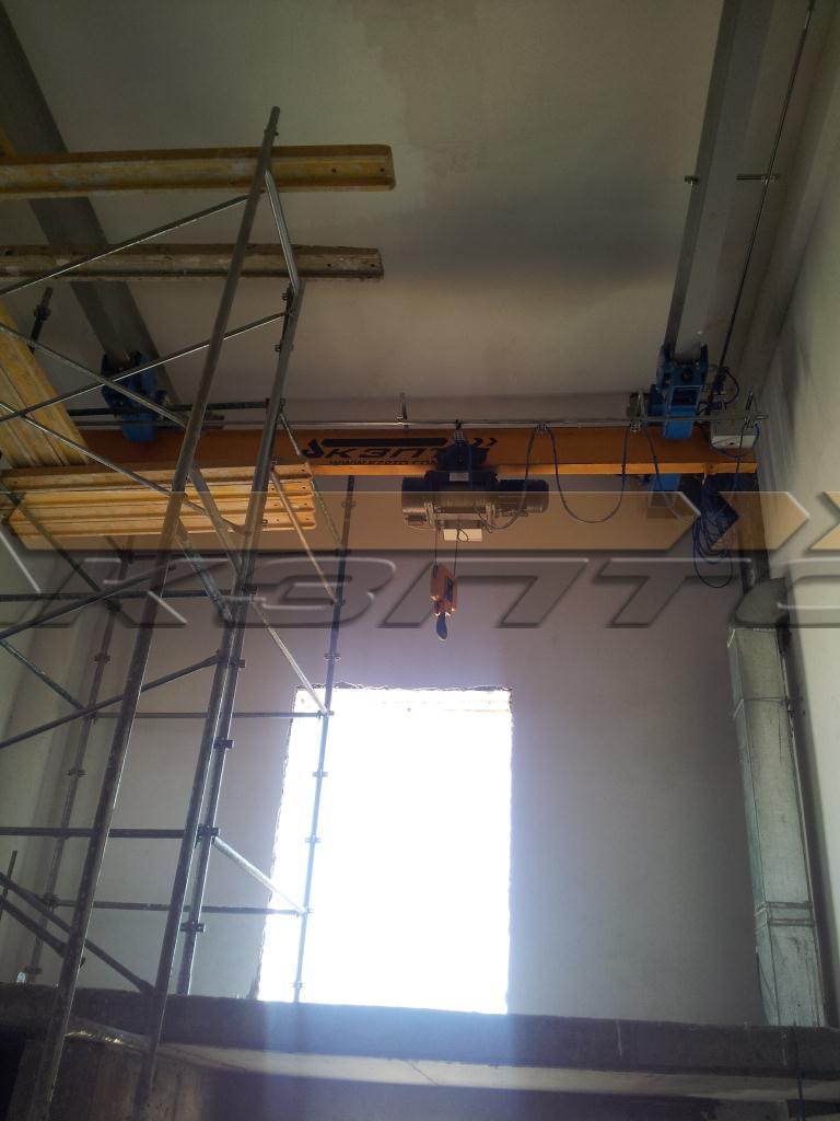 2-Изготовление и монтаж подкрановых путей и кранов