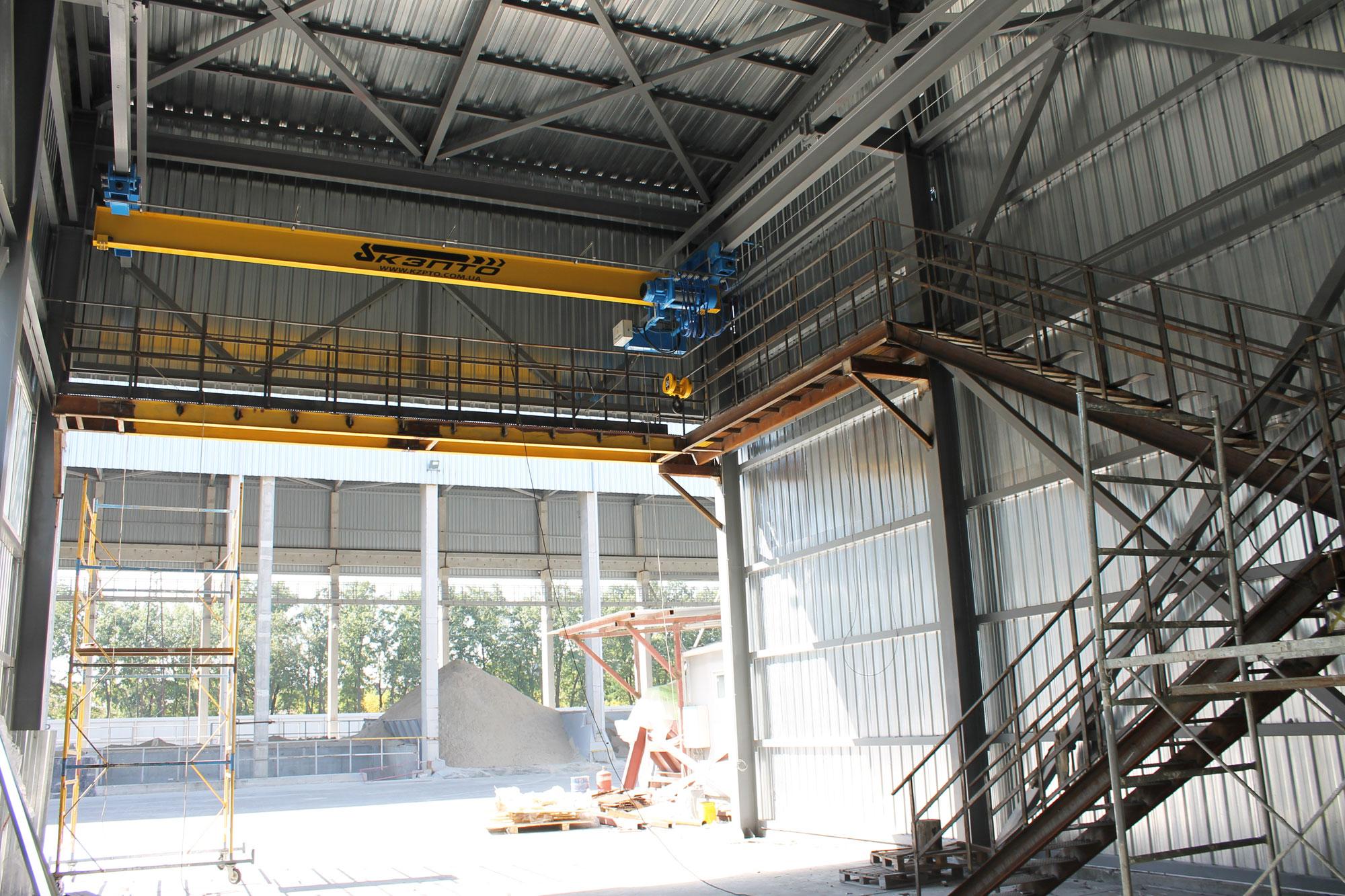 3-Кран подвесной однобалочный г-п 5,0 уменьшенной строительной высоты