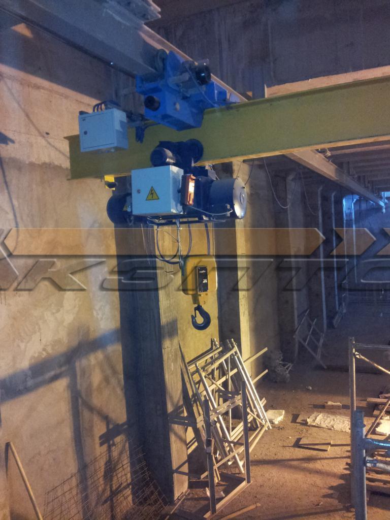 3-Изготовление и монтаж подкрановых путей и кранов