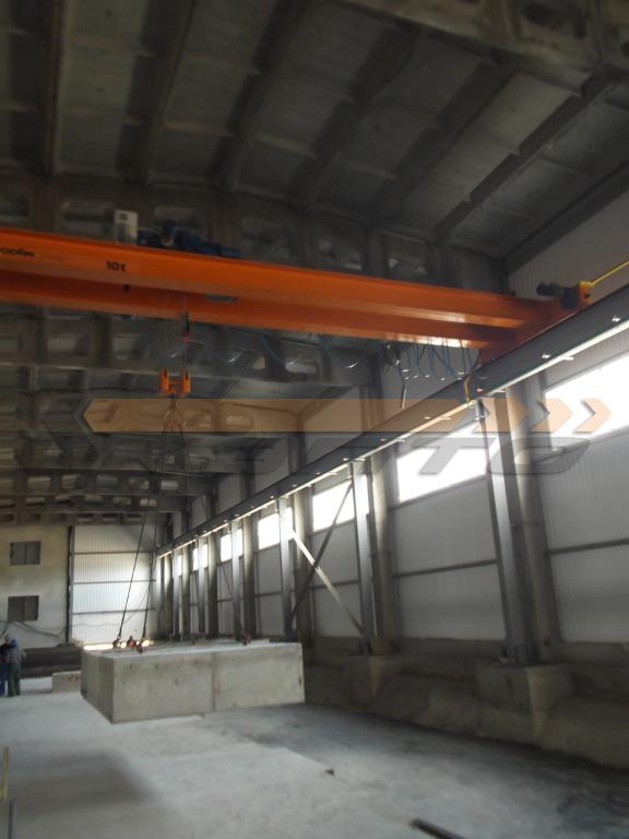 3-Краны мостовые опорные двухбалочные КМ-10,0-10,5-7,0 гп 10,0т