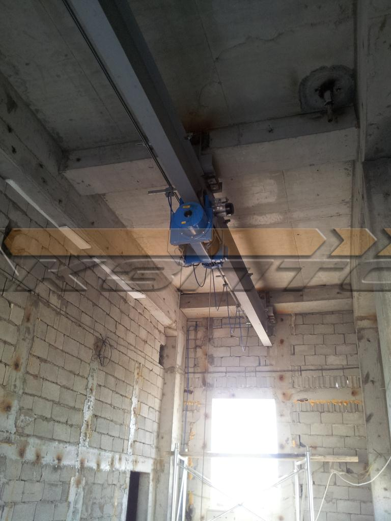 4-Изготовление и монтаж подкрановых путей и кранов