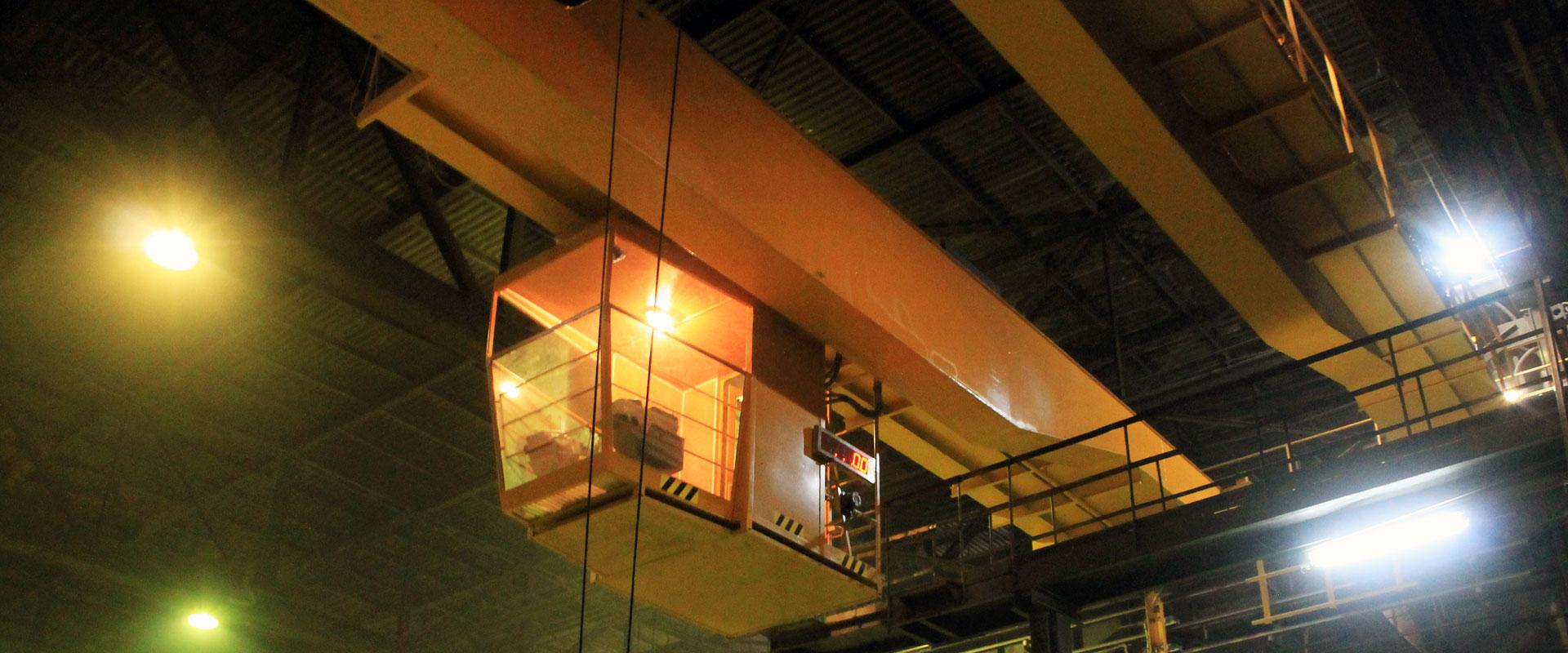 5-Кран мостовой литейный КМ-16,0-3,2 г-п 16,0+3,2т