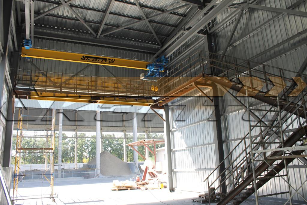 4-Кран мостовой подвесной однобалочный