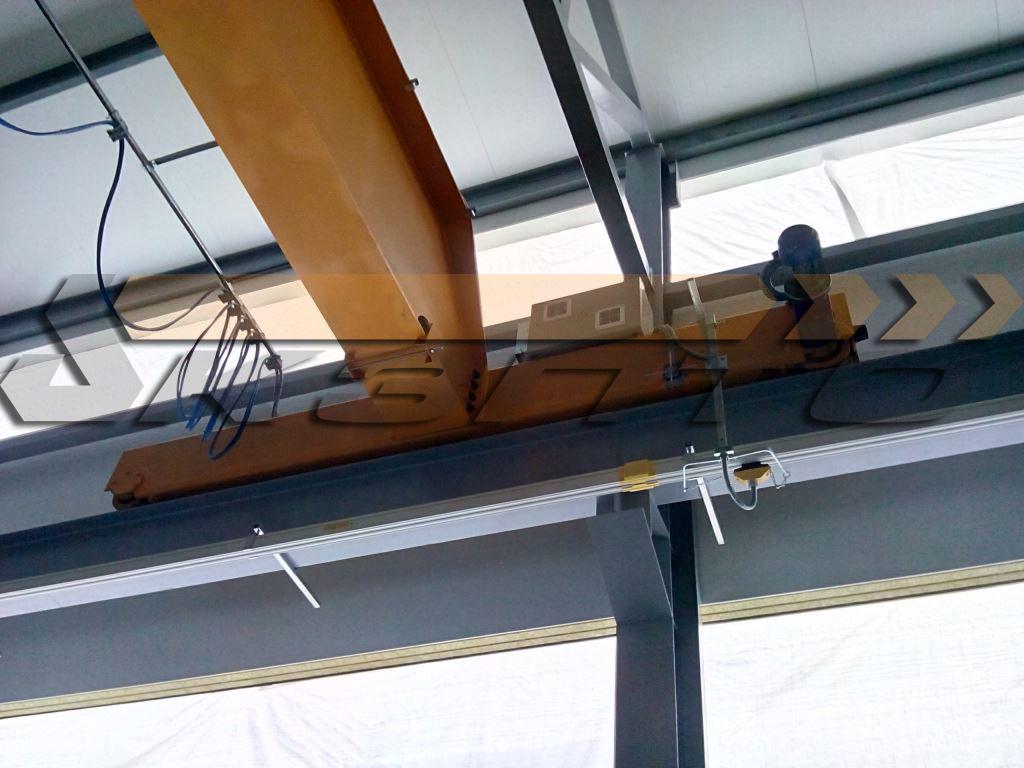 4-Кран мостовой с треллейным токоподводом