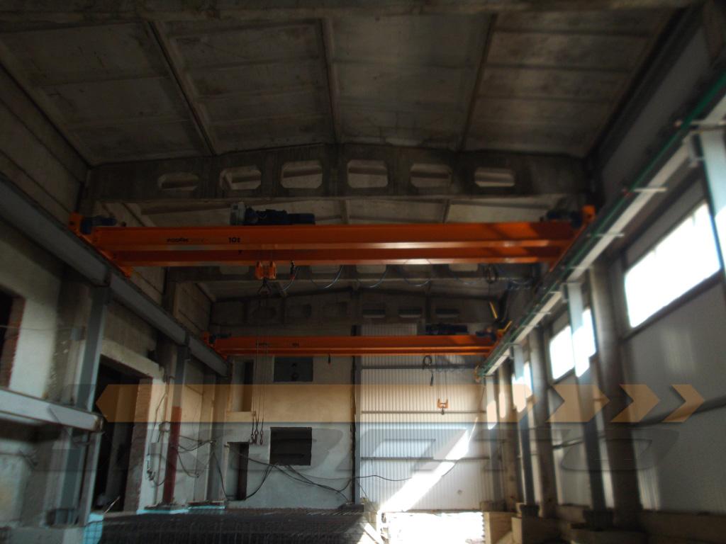 5-Краны мостовые опорные двухбалочные КМ-10,0-10,5-7,0 гп 10,0т