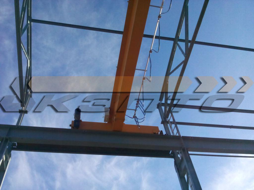 5-Кран мостовой опорный грузоподъемностью 10т