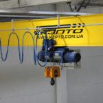 7-Токоподвод кабельный на жестком профиле типа Festoon