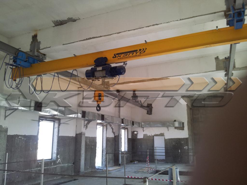 7-Изготовление и монтаж подкрановых путей и кранов