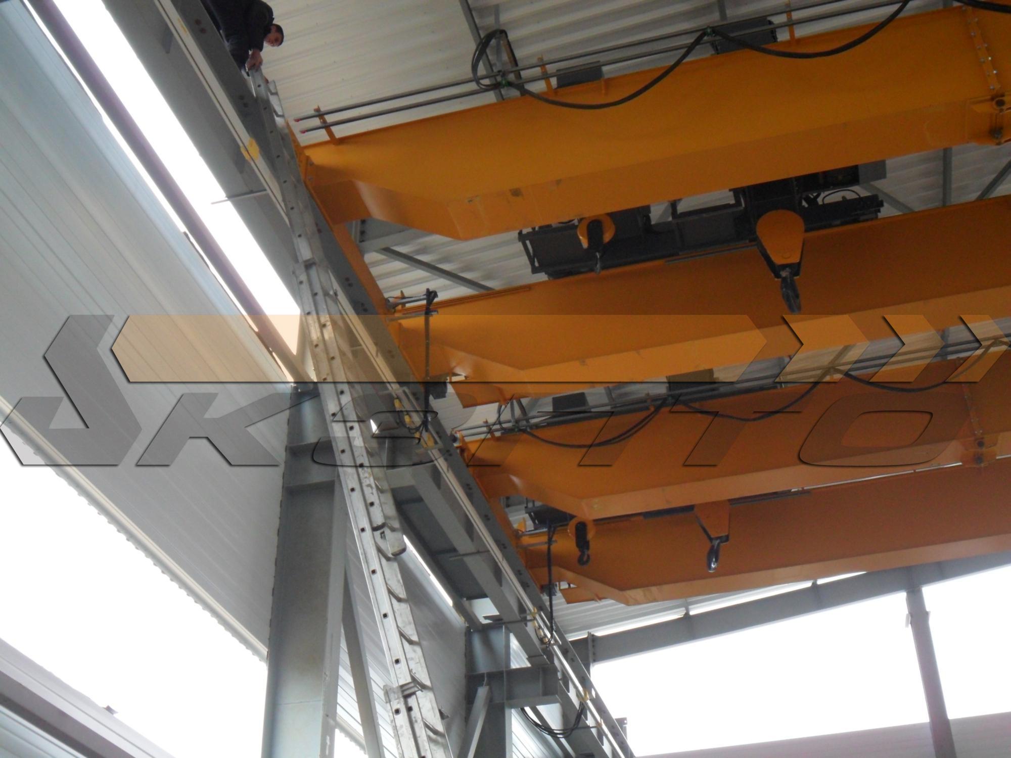 7-Краны мостовые двухбалочные КМ-16,0+5,0-16,5-10,010,0-A5 гп 16,0т + 5,0т