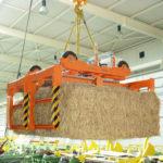 8-Траверса-захват для транспортировки тюков соломы