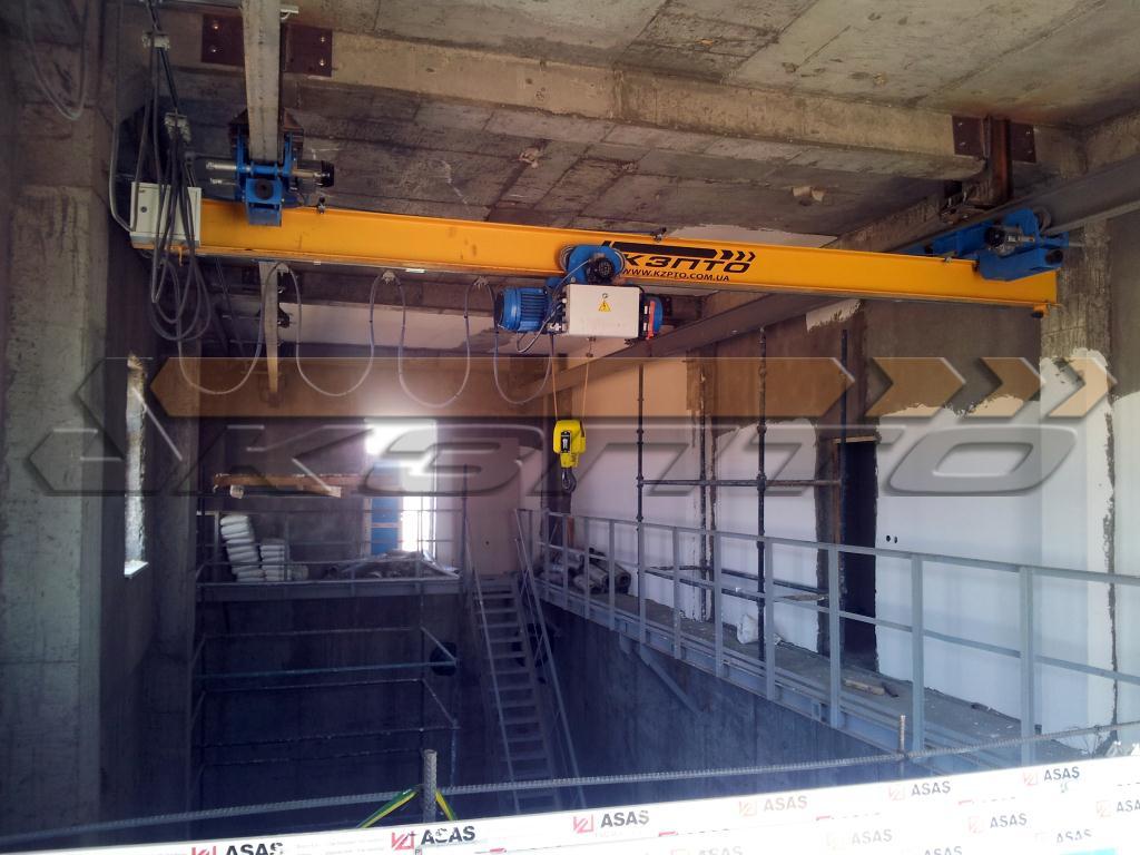 9-Изготовление и монтаж подкрановых путей и кранов