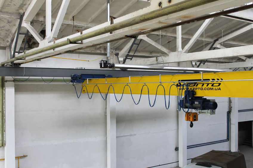 4-Кран балка подвесная с частотником