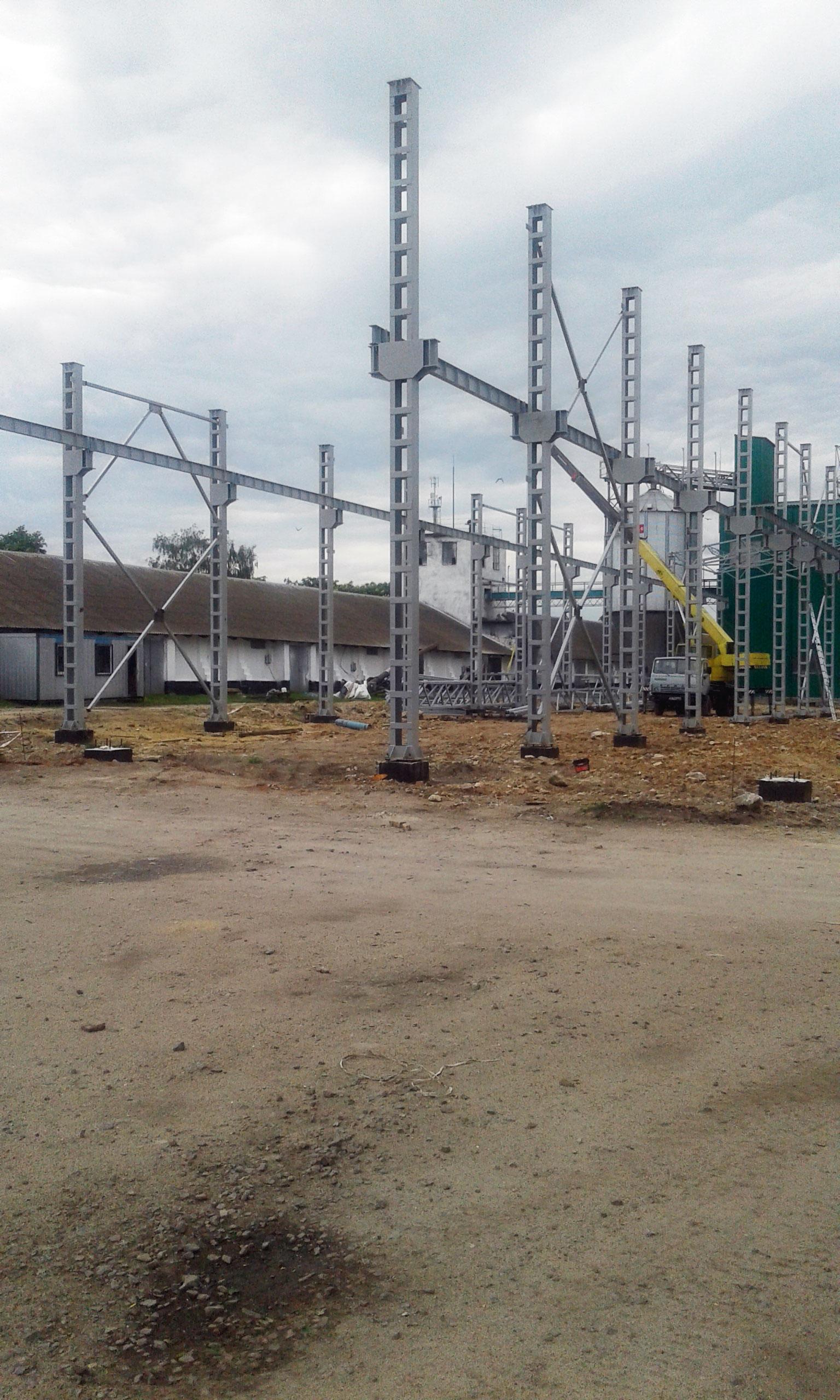 3-Строительство склада для зерна
