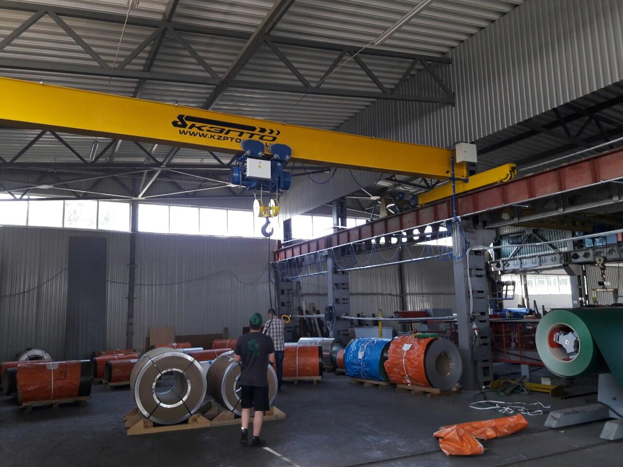 Завод по изготовлению опорных кранов