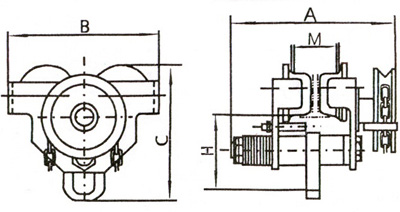 2-Схема тележка грузоприводная SGT