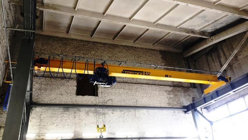 maintenance of overhead cranes pdf