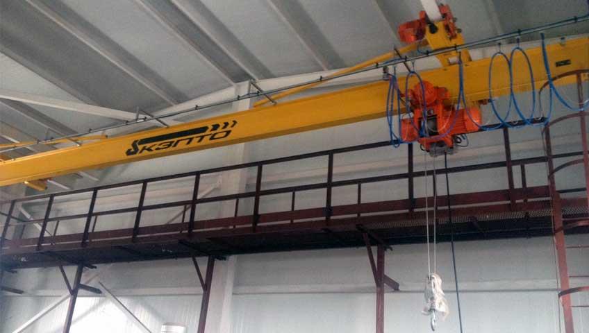 3-Мостовой подвесной кран взрывозащищенное исполнение