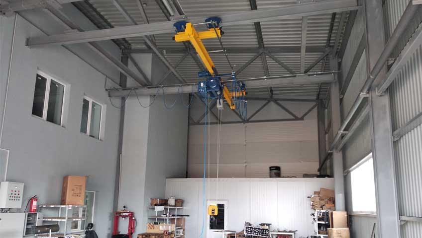 4-Мостовой подвесной кран