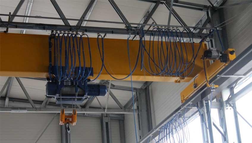 9-Токоподвод для мостового крана