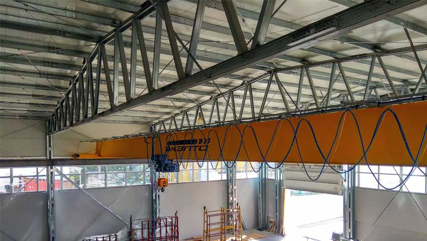 7-Монтаж мостового крана 5,0 т
