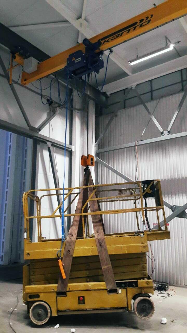 подвесной мостовой кран