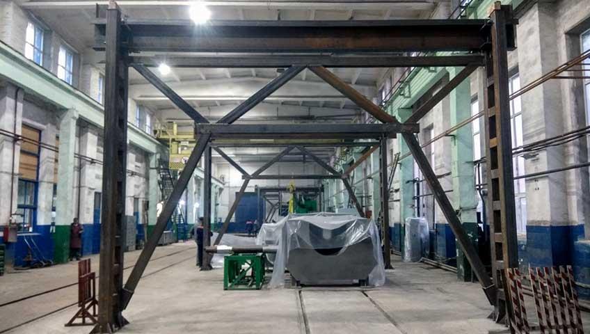 Крановые эстакады для мостового крана