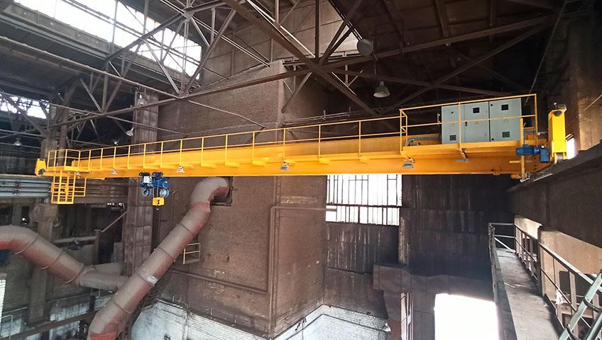 мостовой опорный электрический кран