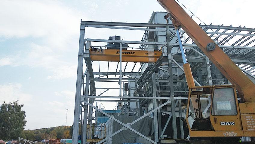 5-Мостовой двухбалочный кран 16т