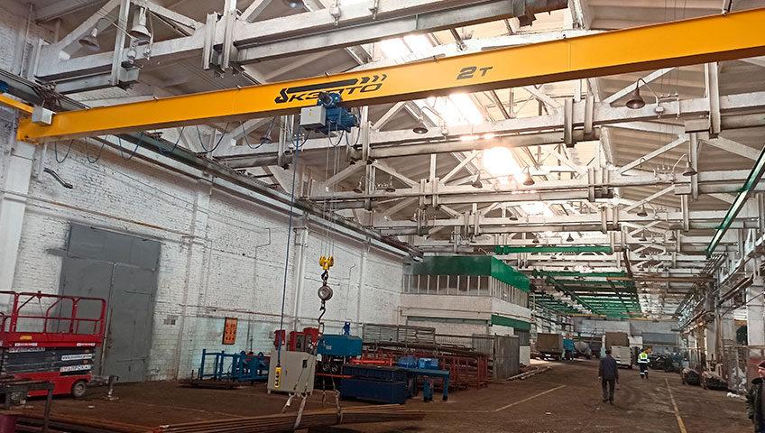 кран-балка для машиностроительного завода