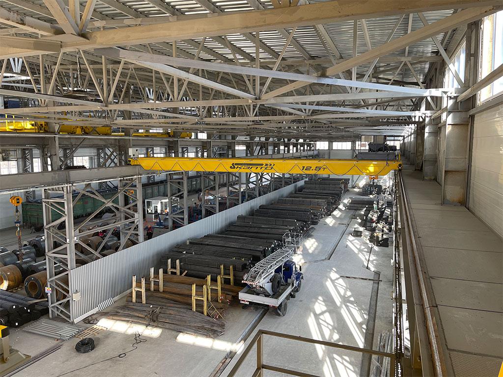 мостовые краны 12,5 тонн